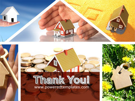 Private Houses PowerPoint Template Slide 20