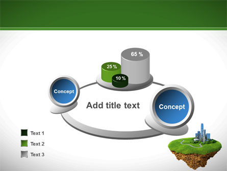 Green Downtown PowerPoint Template Slide 6