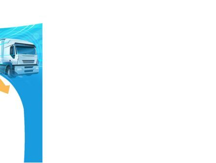 Trucker PowerPoint Template, Slide 3, 08690, Cars and Transportation — PoweredTemplate.com