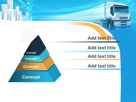 Trucker PowerPoint Template, Slide 4, 08690, Cars and Transportation — PoweredTemplate.com