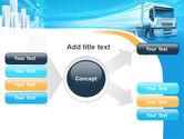 Trucker PowerPoint Template#15