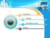 Trucker PowerPoint Template#3