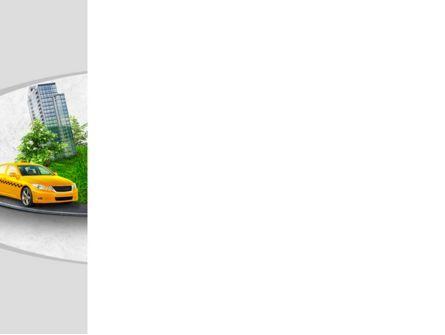 Metropolitan Taxi PowerPoint Template, Slide 3, 08691, Cars and Transportation — PoweredTemplate.com