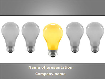 Prominent One PowerPoint Template, 08692, Consulting — PoweredTemplate.com