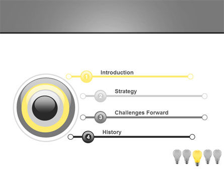 Prominent One PowerPoint Template, Slide 3, 08692, Consulting — PoweredTemplate.com