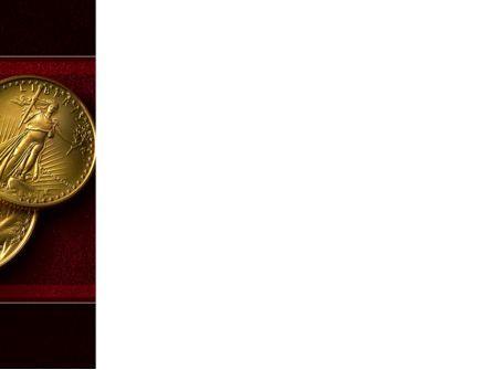 Golden Dollars PowerPoint Template, Slide 3, 08693, Flags/International — PoweredTemplate.com