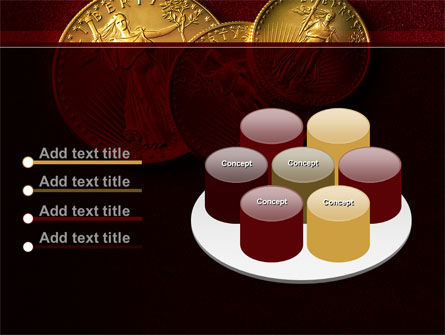 Golden Dollars PowerPoint Template Slide 12