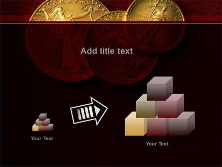 Golden Dollars PowerPoint Template Slide 13