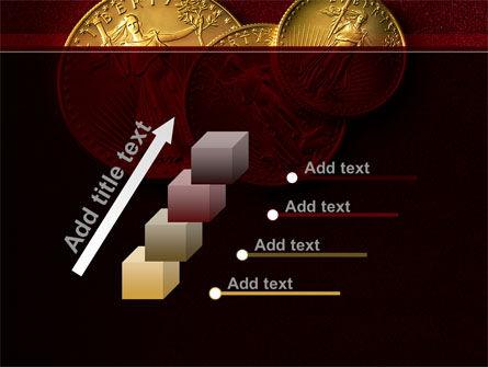 Golden Dollars PowerPoint Template Slide 14