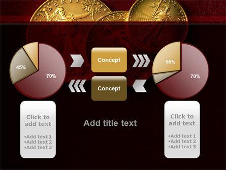 Golden Dollars PowerPoint Template Slide 16