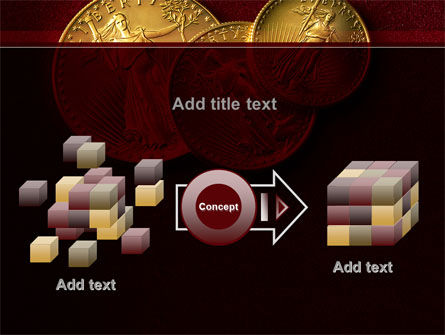 Golden Dollars PowerPoint Template Slide 17