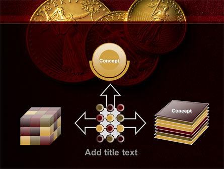 Golden Dollars PowerPoint Template Slide 19