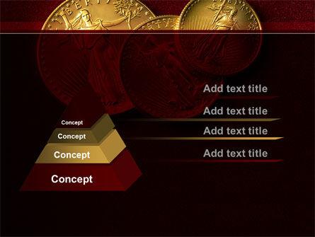 Golden Dollars PowerPoint Template Slide 4