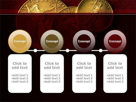Golden Dollars PowerPoint Template Slide 5