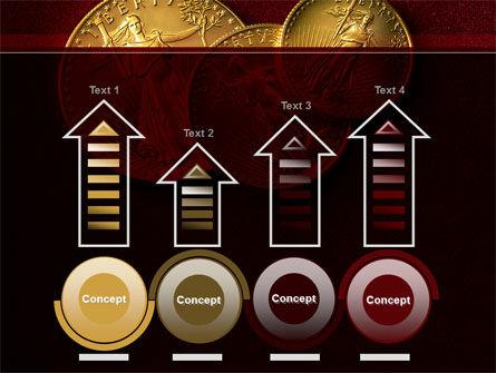Golden Dollars PowerPoint Template Slide 7