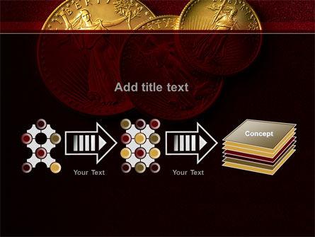 Golden Dollars PowerPoint Template Slide 9