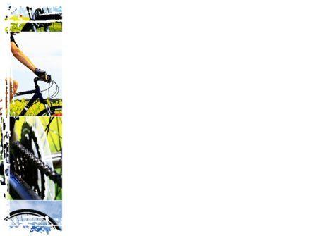 Summer Cyclist Tour PowerPoint Template, Slide 3, 08694, Sports — PoweredTemplate.com