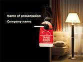 Careers/Industry: Homelike Hotel PowerPoint Template #08698