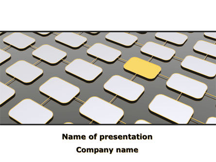 Business: Corporative Business Connections PowerPoint Template #08699