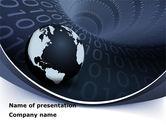 Global: Modèle PowerPoint de liens de données globales #08703
