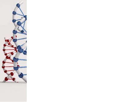 Plastic DNA Model PowerPoint Template, Slide 3, 08704, Medical — PoweredTemplate.com