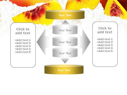 Peach Slices PowerPoint Template Slide 13