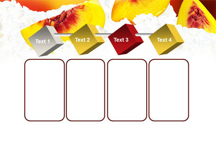 Peach Slices PowerPoint Template Slide 18