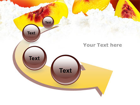 Peach Slices PowerPoint Template Slide 6
