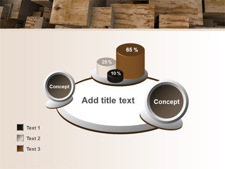 Abstract Marble Cubes PowerPoint Template Slide 16