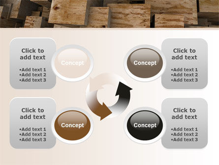 Abstract Marble Cubes PowerPoint Template Slide 9