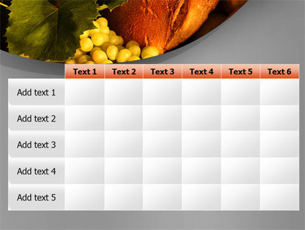 Food Basket PowerPoint Template Slide 15