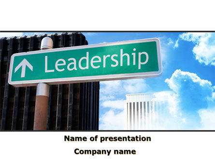 Leadership Training PowerPoint Template, 08714, Consulting — PoweredTemplate.com
