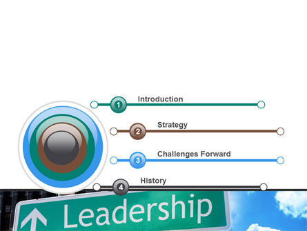 Leadership Training PowerPoint Template, Slide 3, 08714, Consulting — PoweredTemplate.com