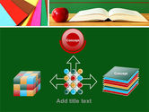 School Stationery For Learning Process PowerPoint Template#19