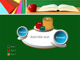 School Stationery For Learning Process PowerPoint Template#6
