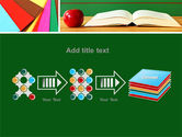 School Stationery For Learning Process PowerPoint Template#9