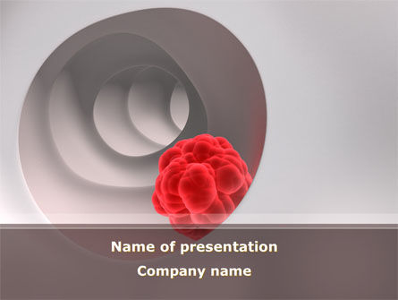Blood Diseases PowerPoint Template, 08717, Medical — PoweredTemplate.com