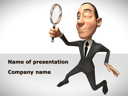 Consultant PowerPoint Template, 08723, Careers/Industry — PoweredTemplate.com