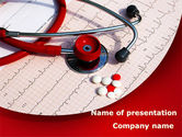 Medical: Cardiopharmacololgy PowerPoint Template #08725