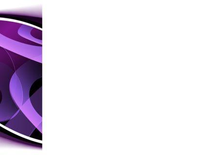 Purple Circles PowerPoint Template, Slide 3, 08726, Abstract/Textures — PoweredTemplate.com