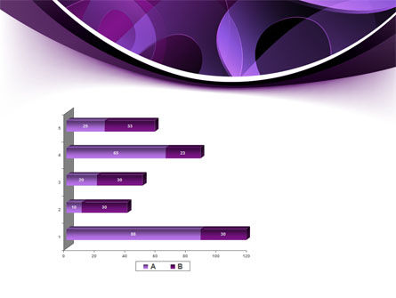 Purple Circles PowerPoint Template Slide 11