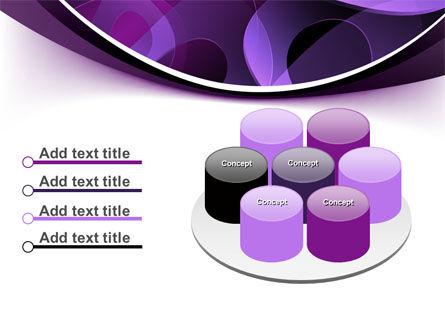 Purple Circles PowerPoint Template Slide 12