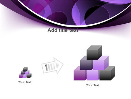 Purple Circles PowerPoint Template Slide 13