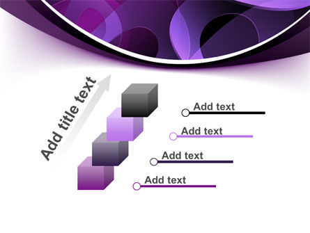 Purple Circles PowerPoint Template Slide 14