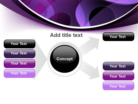Purple Circles PowerPoint Template Slide 15