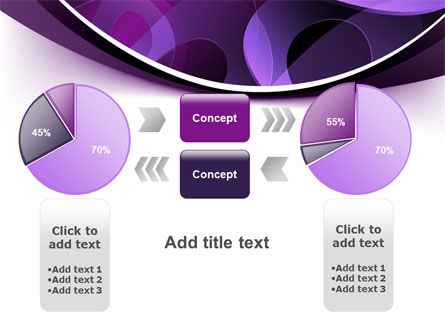 Purple Circles PowerPoint Template Slide 16