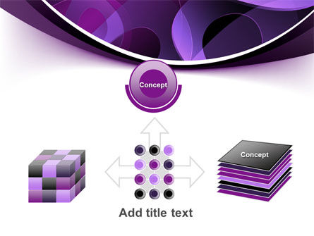 Purple Circles PowerPoint Template Slide 19