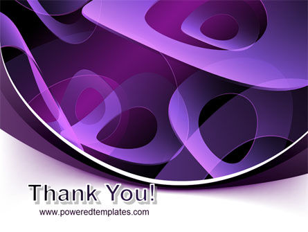 Purple Circles PowerPoint Template Slide 20