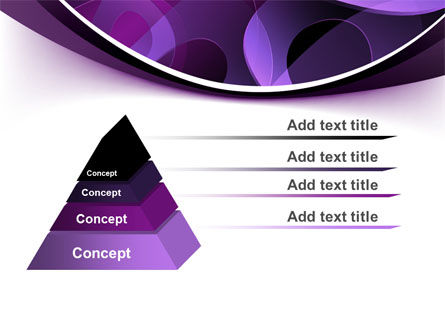 Purple Circles PowerPoint Template Slide 4