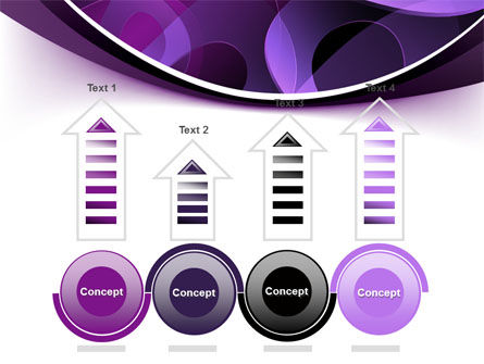 Purple Circles PowerPoint Template Slide 7
